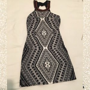 Black and White Coctail Dress